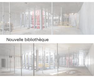 Bibliothèque Falaise 2, 2ème et 3ème étages