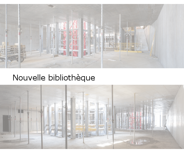 Bibliothèque Falaise 2, 2ème et 3ème étages